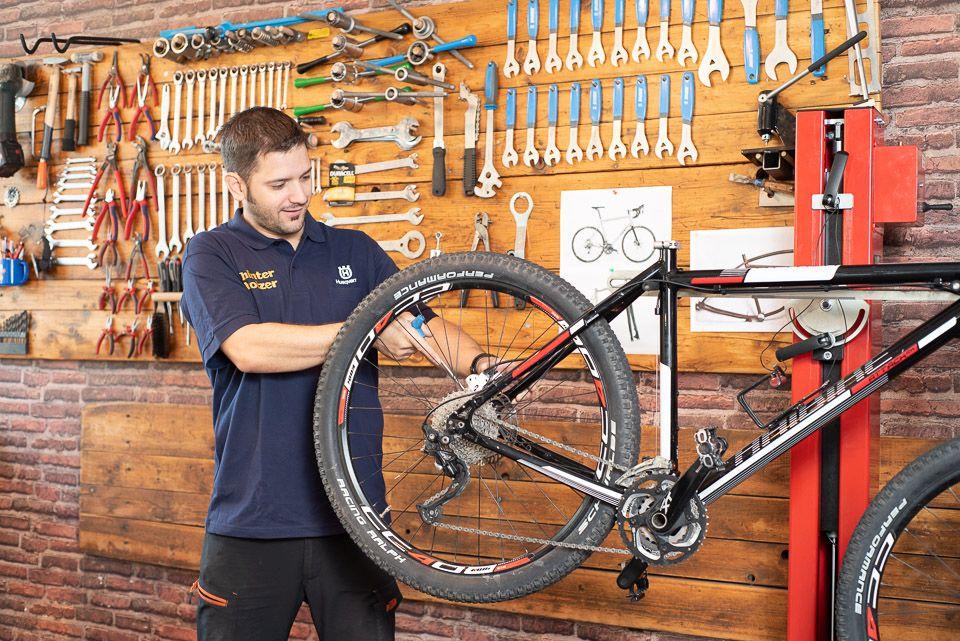 Fahrradservice für Fahrrad-Mechaniker
